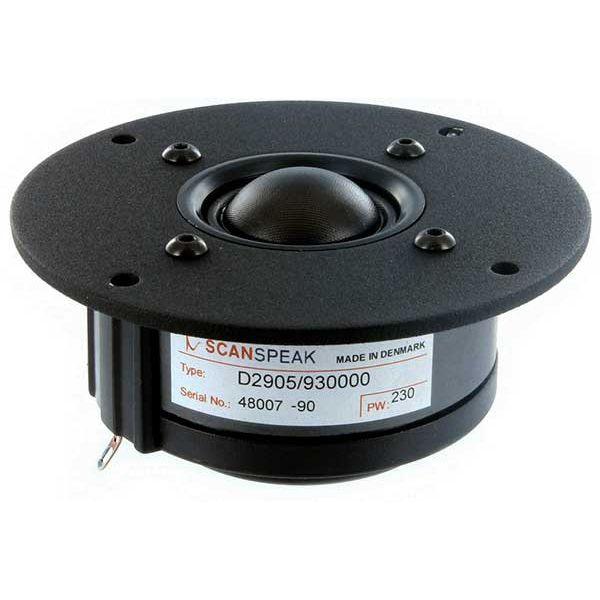 ScanSpeak D2905/930000 soft dome 6 Ω 104,5 mm 150 Watt 90 db