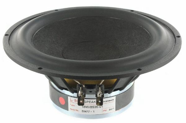SCANSPEAK 18W/8535-01 Midwoofer Carbon Firbre Cone - 8 ohm