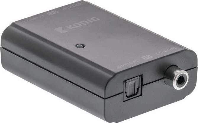 Αμφίδρομος ψηφιακός μετατροπέας ήχου Konig KNA CO2502