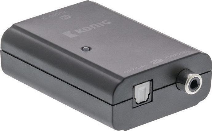 Μετατροπέας Ψηφιακού Ήχου Konig KNA CO2503 Stereo RCA to digital audio adapter