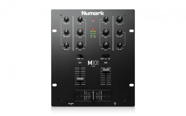 NUMARK M-101 Black ΜΙΚΤΗΣ DJ 2 ΚΑΝΑΛΙΩΝ