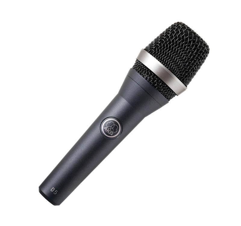 Akg D5 Δυναμικό υπερκαρδιοειδές μικρόφωνο χειρός