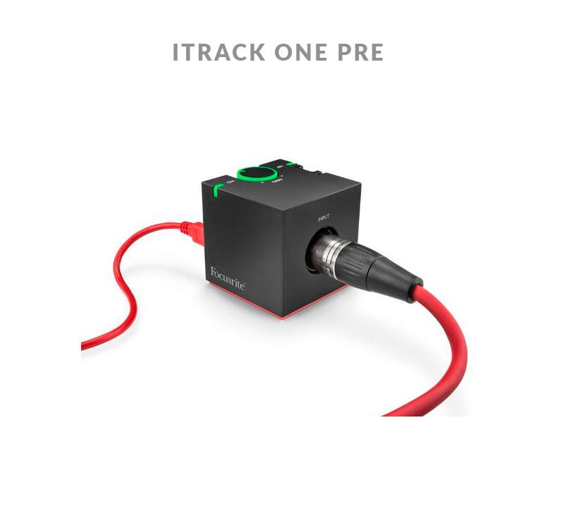 FOCUSRITE ITRACK ONE PRE Κάρτα ήχου USB για iPhone,iPad