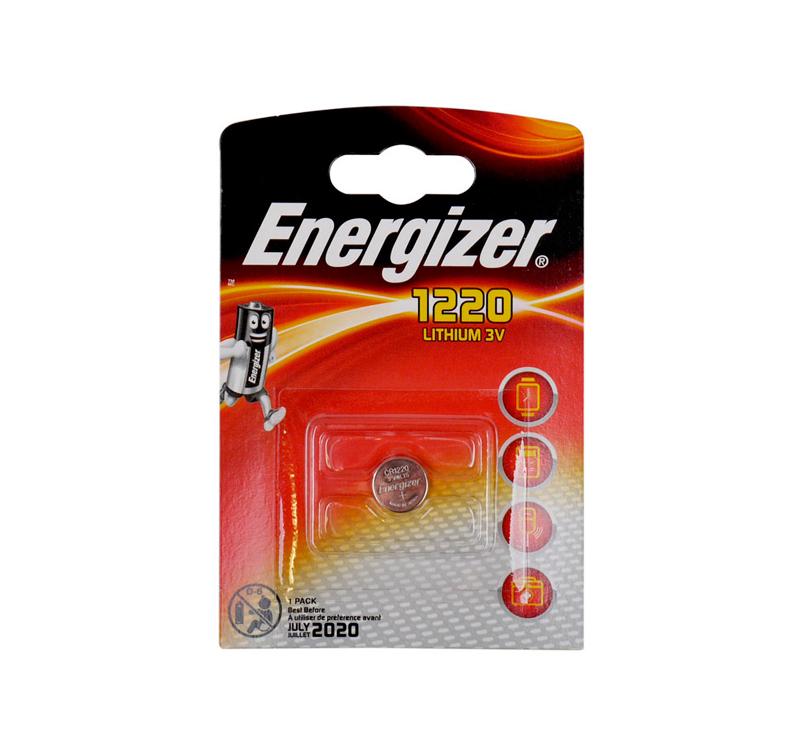 ENERGIZER CR1220 Μπαταρία λιθίου 3v σε blister 1 μπαταρίας