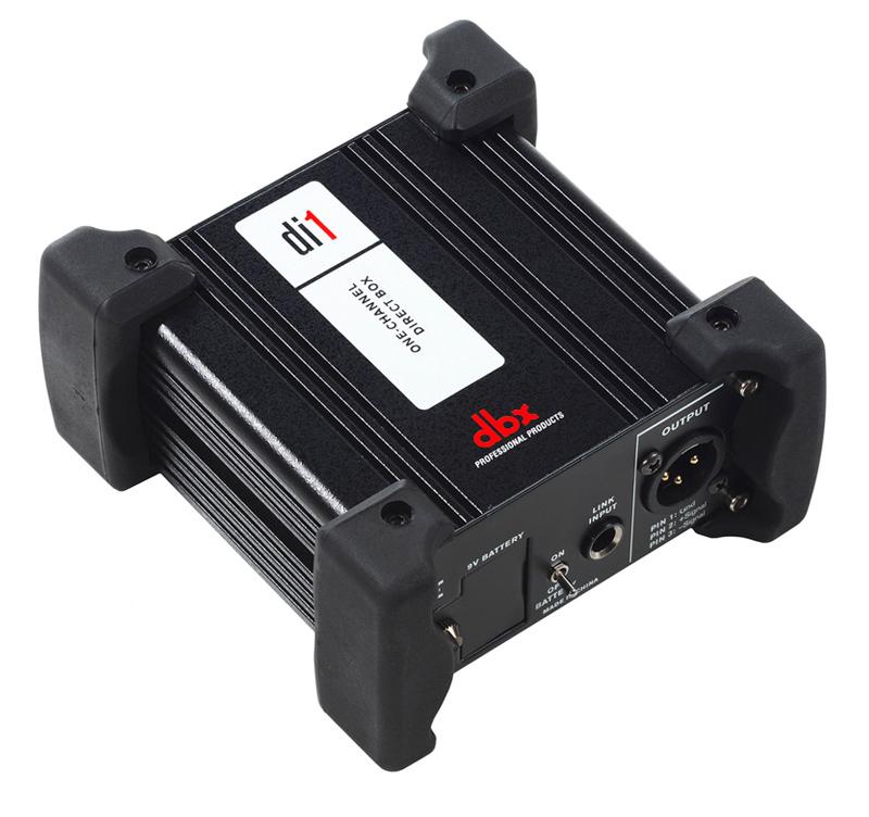 DBX Di1 ενεργό DI BOX απόκριση συχνότητας 10Hz to 70kHz ground lift