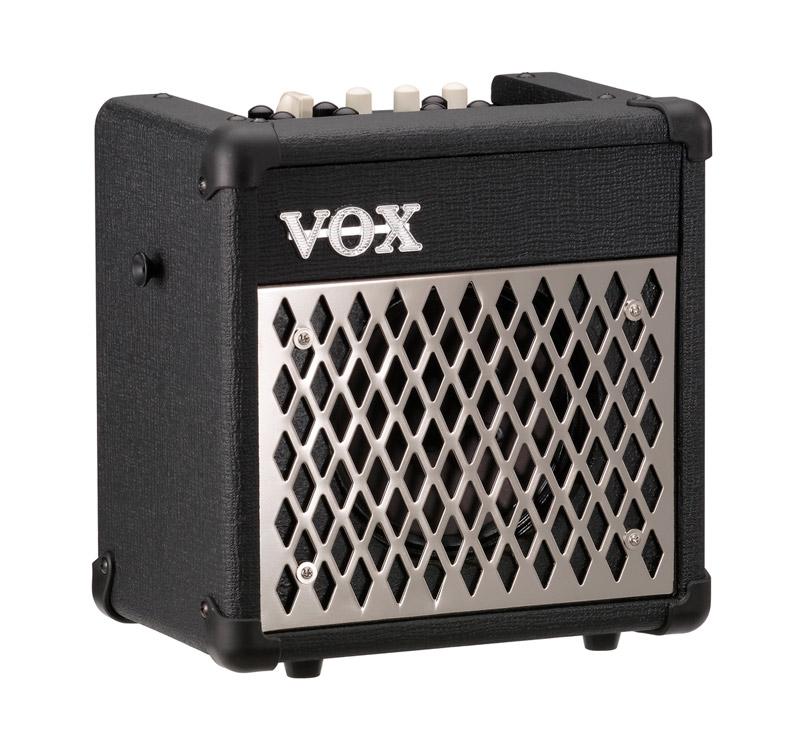 VOX MINI5 RHYTHM φορητός ενισχυτής ηλεκτρικής κιθάρας 5W