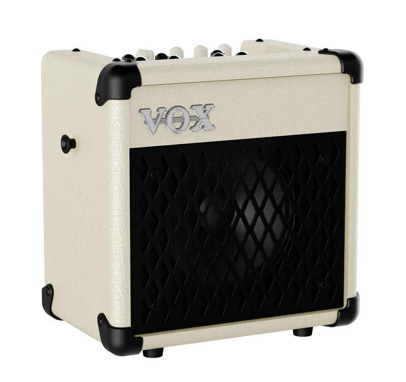 VOX Mini5 Rhythm Ivory Φορητός ενισχυτής ηλεκτρικής κιθάρας 5W