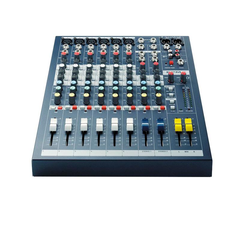 Soundcraft Spirit EPM6 Κoνσόλα ήχου με 6 MONO 2 STEREO 2 AUX