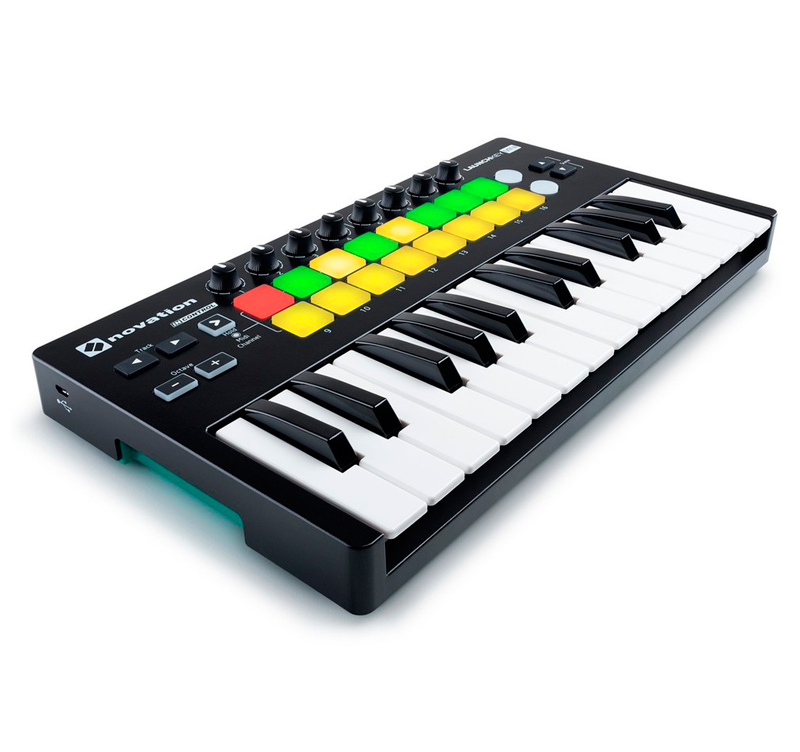 NOVATION LAUNCHKEY MINI MK2 midi keyboard controller για το Ableton Live