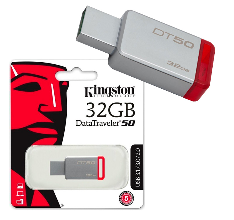 Kingston DataTraveler 50 32GB USB 3.1 Flash