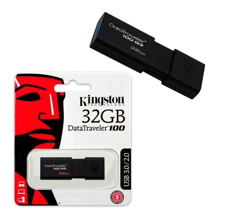 Kingston DataTraveler 100 G3 32GB USB 3.1