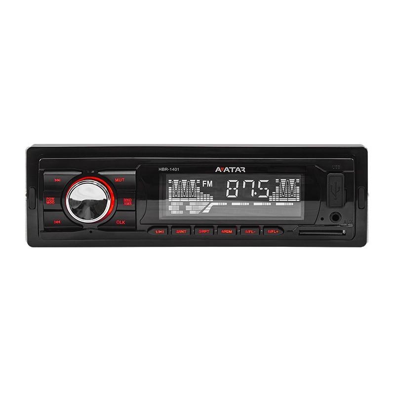 Avatar HBR-1401 Ράδιο-MP3 4X50W MAX με θύρα USB/SD και Aux