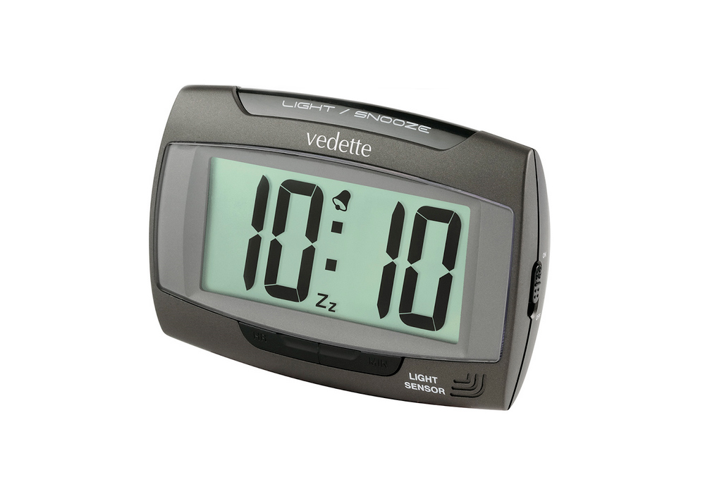 Vedette VR30055 Επιτραπέζιο ψηφιακό ρολόι-ξυπνητήρι με light sensor