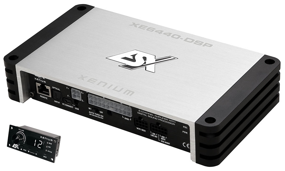 Esx Xenium XE6440-DSP Εξακάναλος Ενισχυτής Class D, DSP 4x40 + 2x70 Watts