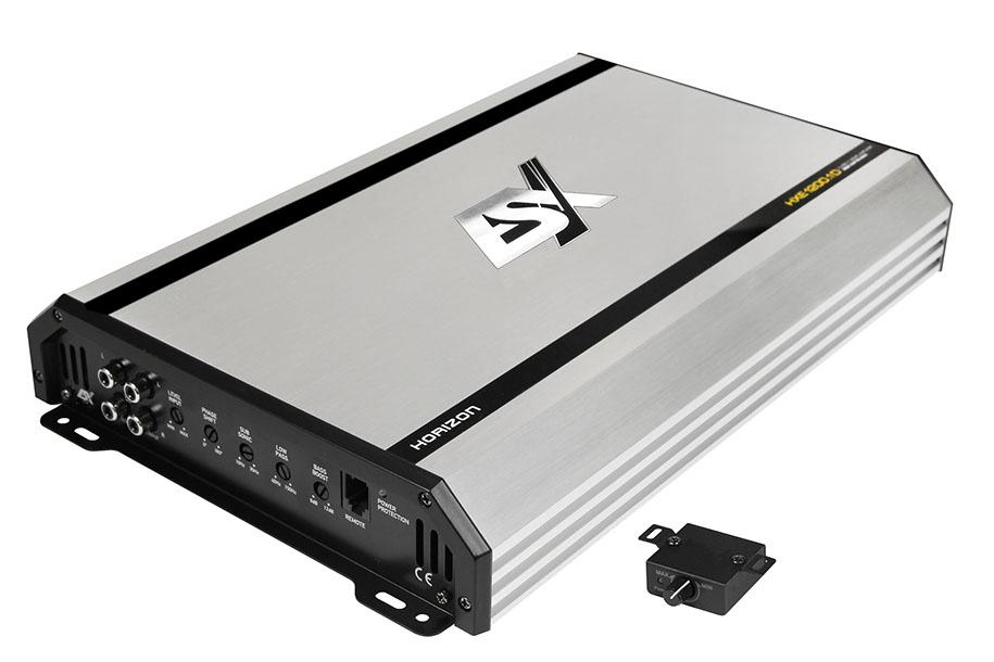 ESX HORIZON HXE1200.1D Μονοκάναλος Ενισχυτής Aυτοκινήτου Ισχύος 600 WRMS/1Ohm
