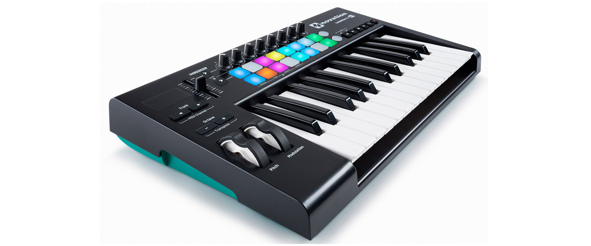 Novation LAUNCHKEY 25 MK2, Usb Midi Controller 25 Δυναμικών πλήκτρων