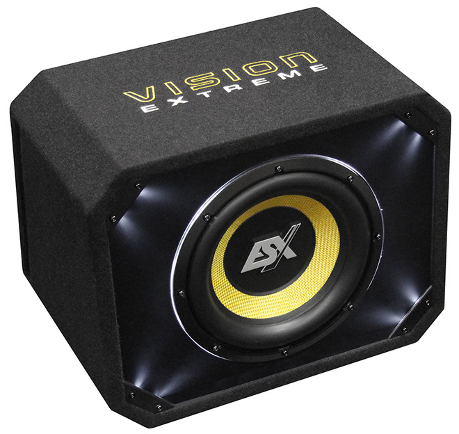 ESX VISION VE-200 8  Vented Enclosure Sub 300WRMS/4Ohm