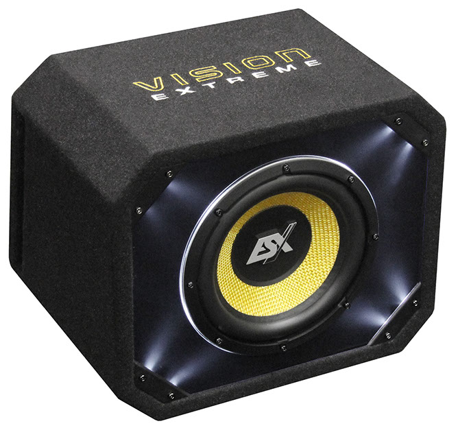 ESX VISION VE300 12  Vented Enclosure Sub 500WRMS/4Ohm