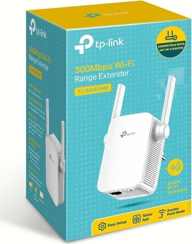 TP-Link TL-WA855RE 300Mbps Wi-Fi Range Extender Ver3.0