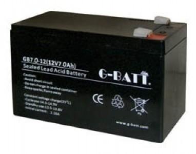 G-batt, GB7-12S, Μπατ. Μολύβδου 12V 7.0Α