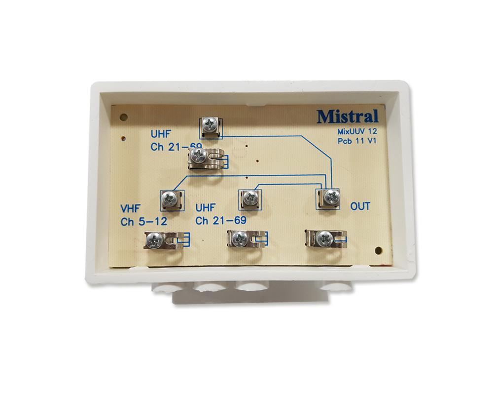 Mistral, 2UV 0202, Μίκτης Ιστού UHF-UHF-VHF