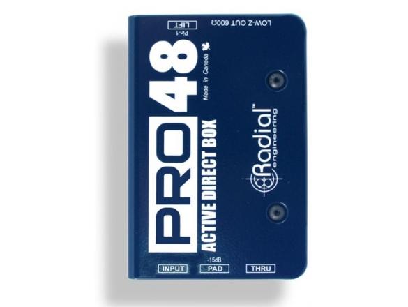 RADIAL Pro48 Ενεργό Di Box