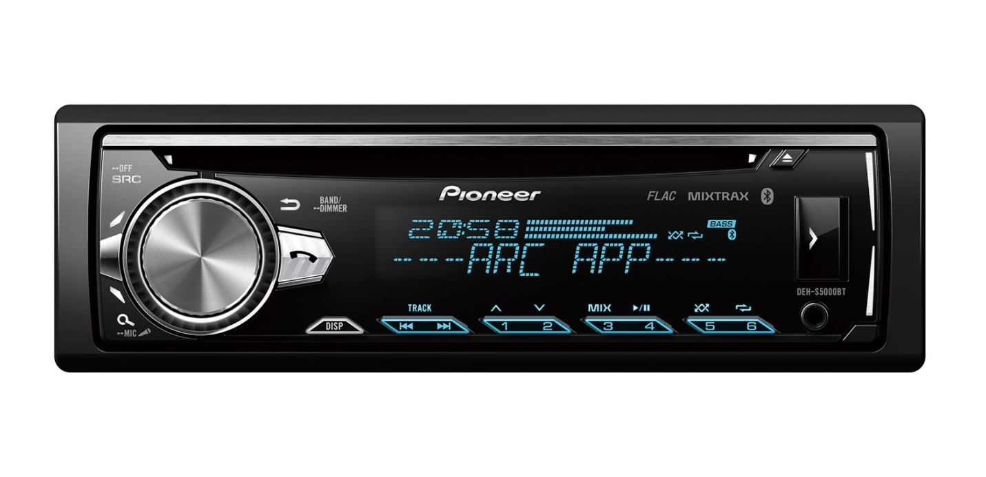 Pioneer DEH-S5000ΒΤ Ράδιο-CD Mε Bluetooth & USB