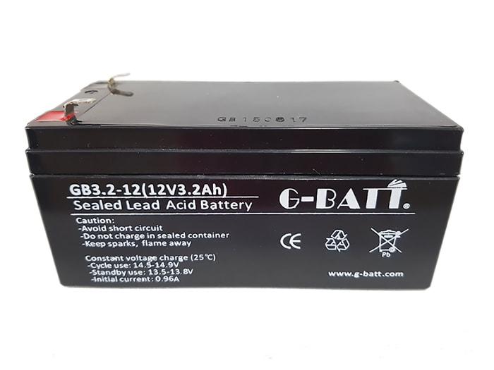 G-BATT GB3.2-12 Μπαταρία μολύβδου 12V 3.2Ah