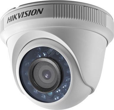 Hikvision DS-2CE56C0T-IRPF Κάμερα HDTVI 720p Φακός 2.8mm