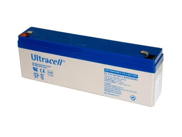 Ultracell UL2.4-12 Μπαταρία Μολύβδου 12V 2,4AH