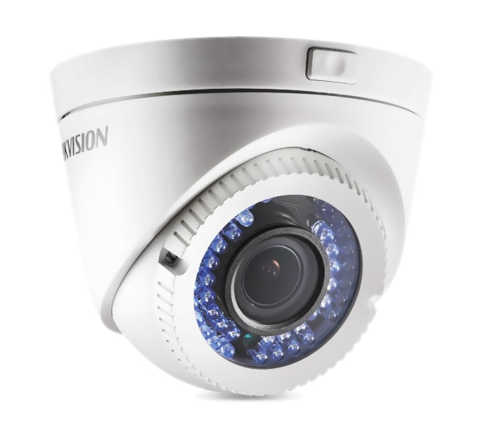 Hikvision DS-2CE56C0T-VFIR3F Κάμερα HD-TVI 720p Φακός varifocal 2.8-12mm