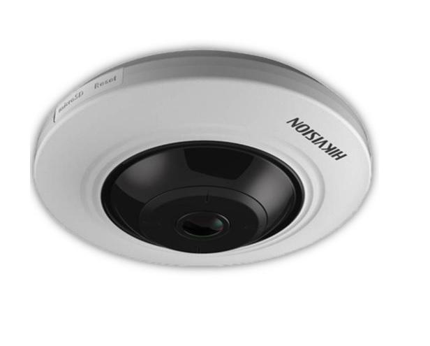 Hikvision DS-2CC52H1T-FITS Fisheye Κάμερα HDTVI 5MP Φακός 1.1mm