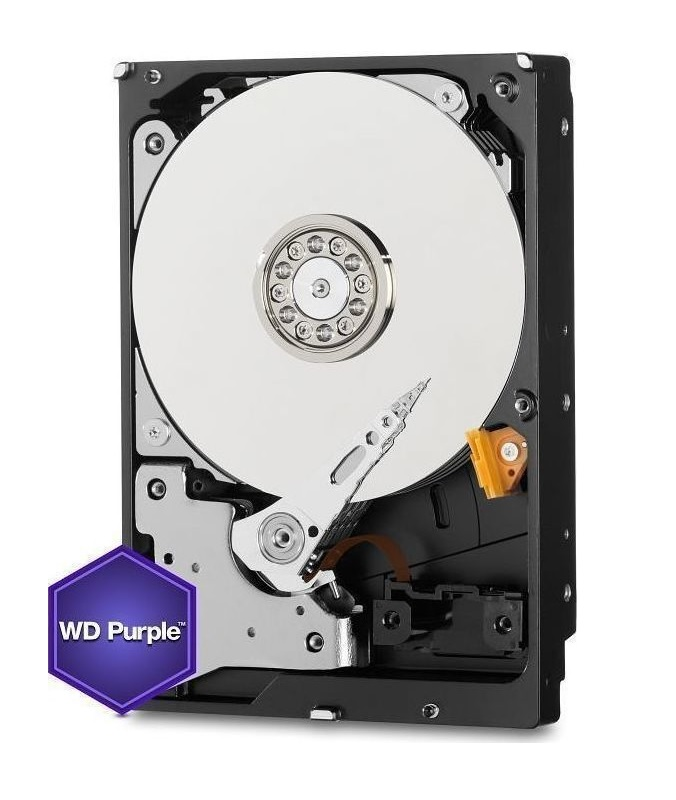 Western Digital Purple 24/7 Surveillance HDD Για DVR/NVR 2TB