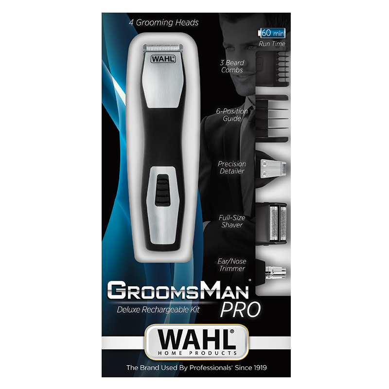 Wahl Groomsman Pro 9855-1216 Τρίμμερ Επαναφορτιζόμενο