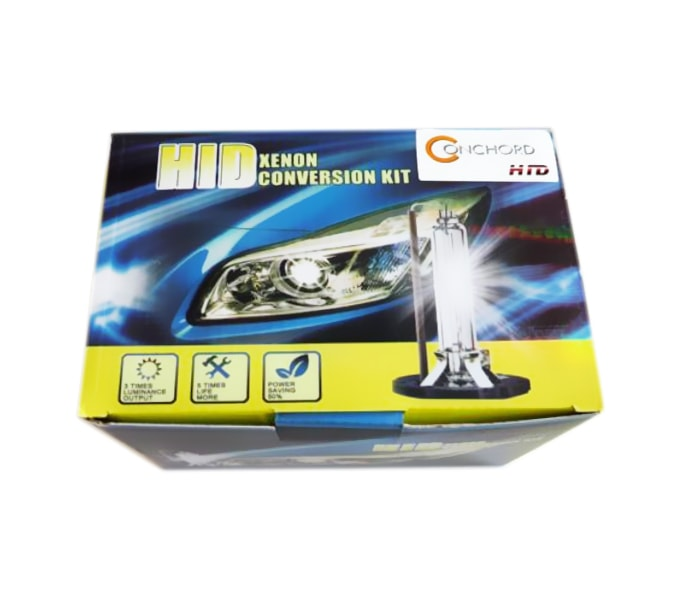 Σετ Φώτα XENON Αυτοκινήτου H4 8000K, BALLAST B4 slim 35W Πλήρες ΚΙΤ HID