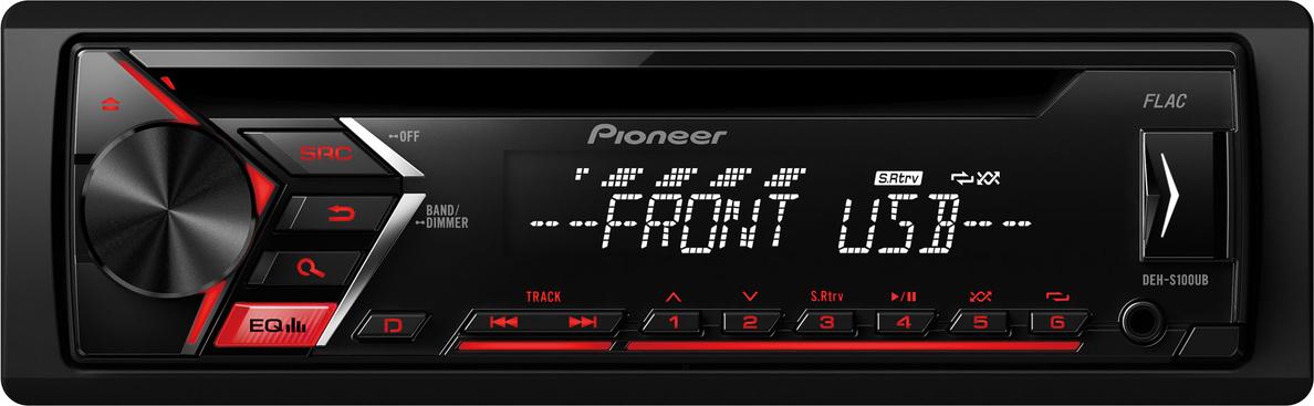 Pioneer DEH S100 UB Ράδιο-CD Αυτοκινήτου Με USB