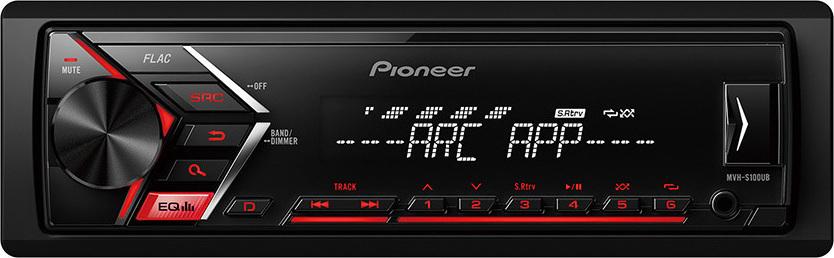 Pioneer MVH-S100UB Mechaless Πηγή με Ράδιο - USB
