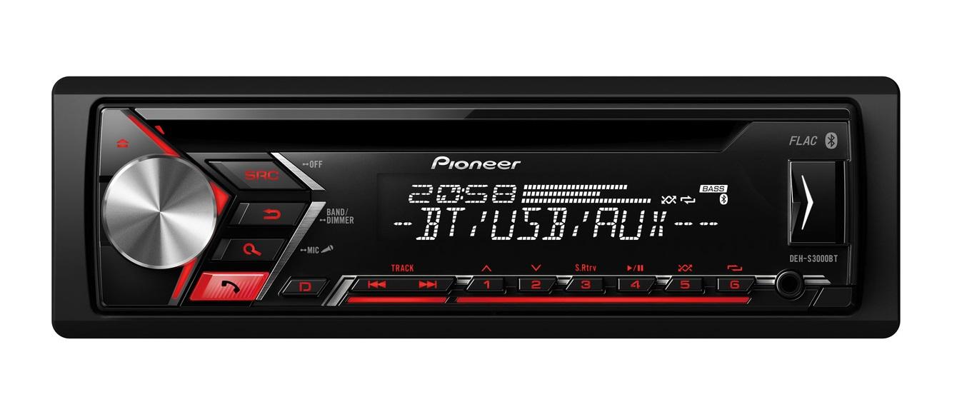 Pioneer DEH-S3000BT MP3 Ράδιο-CD με Bluetooth