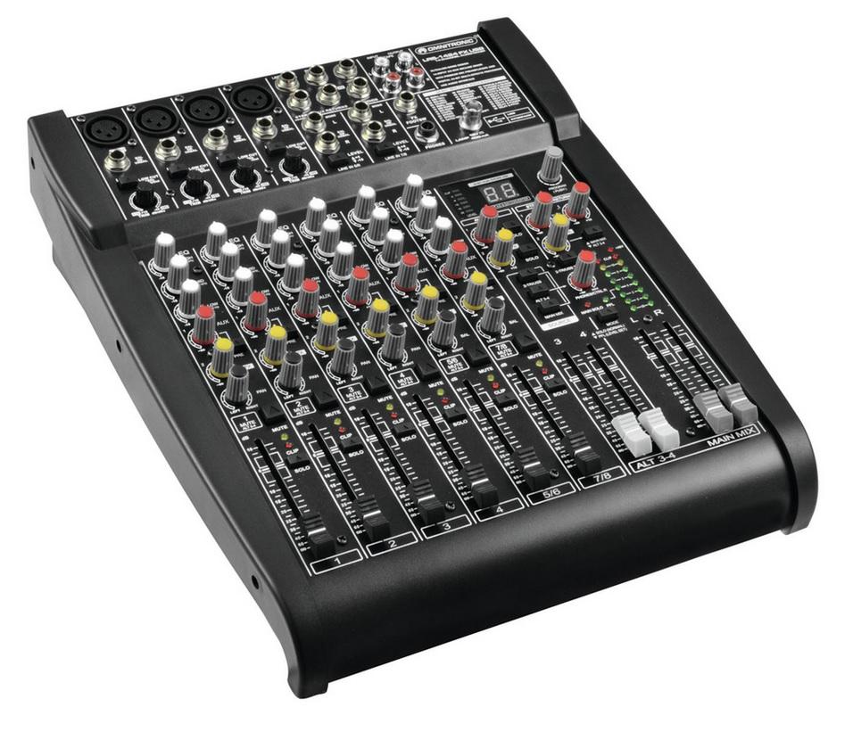 Omnitronic LRS-1424FX Κονσόλα Μίξης Με Digital Effects & USB
