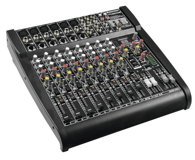 Omnitronic LRS-1624FX Κονσόλα Μίξης Με Digital Effects & USB