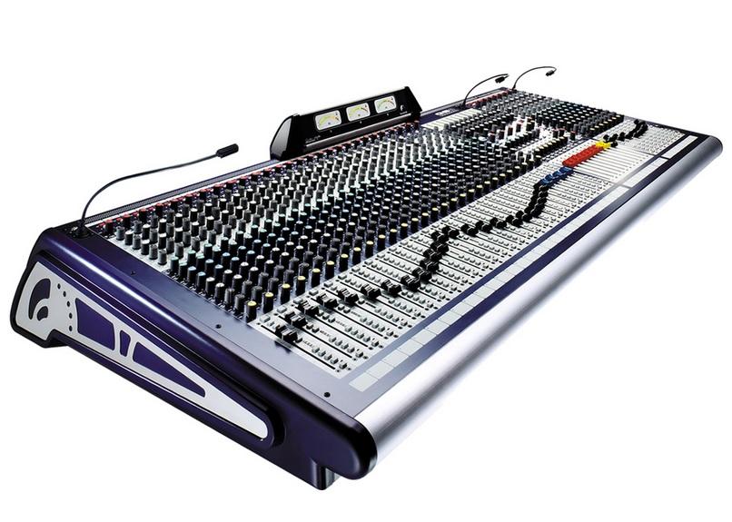 SOUNDCRAFT GB8 16CH Κονσόλα Live 16 MONO/4 STEREO