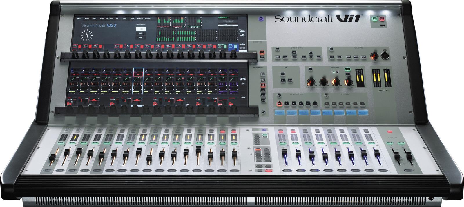 SOUNDCRAFT VI1 Ψηφιακή Κονσόλα Μίξης Modular