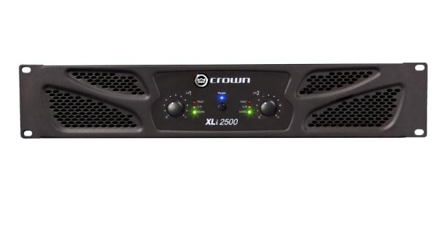 CROWN XLi-2500 Τελικός Ενισχυτής 2x800W
