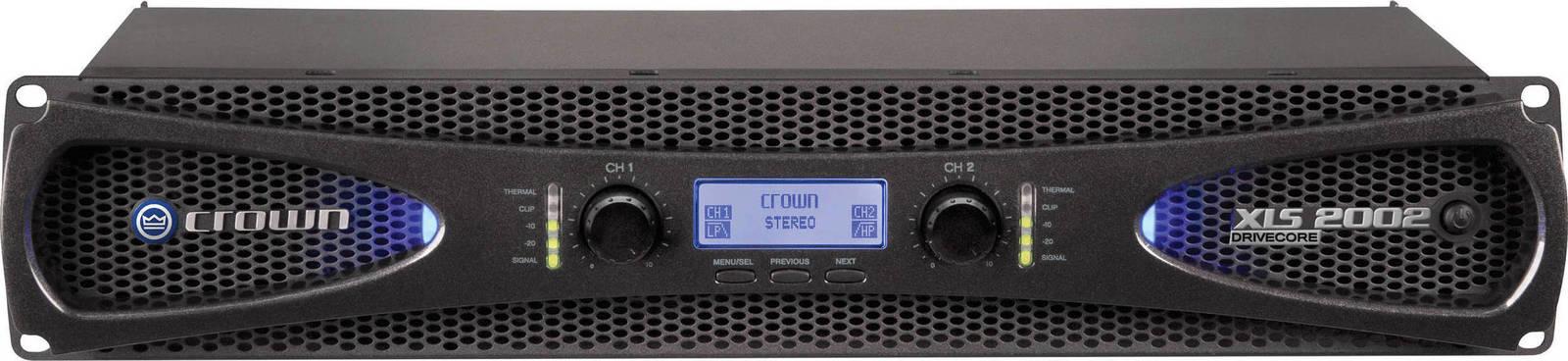 CROWN XLS-2002 Τελικός Ενισχυτής 650W