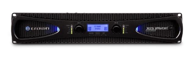 CROWN XLS-2502 Τελικός Ενισχυτής 2 X 775W / 4Ω με DSP