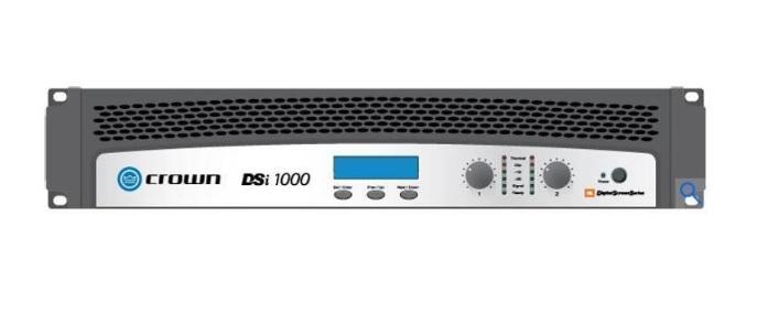 CROWN DSI-1000 Τελικός Ενισχυτής 2 X 475W Με DSP (CINEMA)