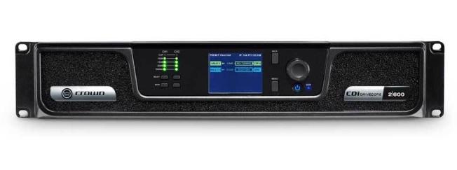 CROWN CDI2/600 Τελικός Ενισχυτής 2X600W 100V
