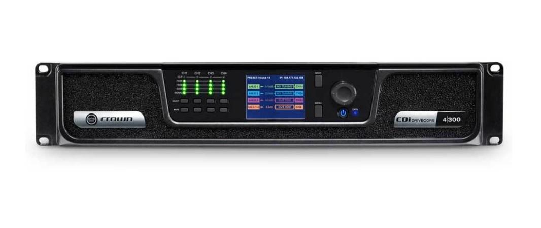 CROWN CDI4/300 Τελικός Ενισχυτής 4x300W 100V