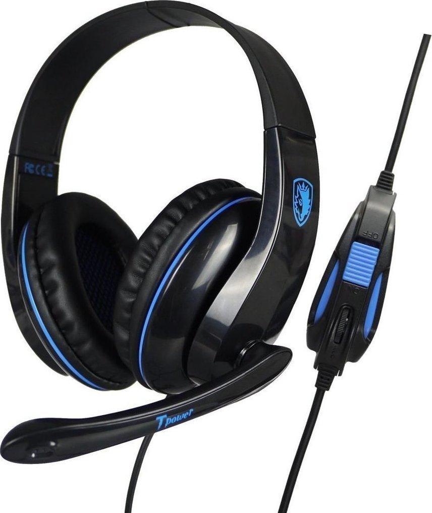 Sades Tpower SA-701 Gaming HeadSet Μπλε