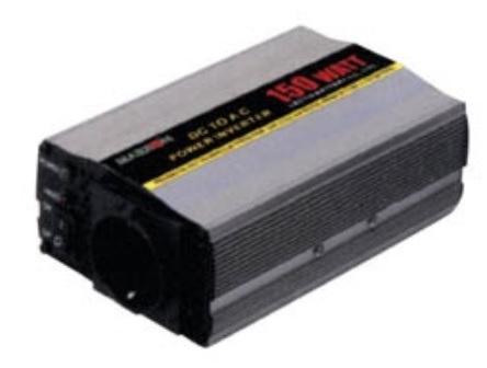 INVERTER DC/AC PI-150 MRX Τροποποιημένου Ημιτόνου 150W/12W
